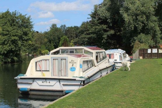 Visitor Moorings with 2 x 40 Ft cruisers